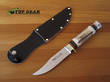 Linder Traveller Knife with Staghorn Handle - 190112