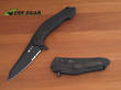 CRKT Mah Eraser Tactical Folding Knife - Black TiNi 8900K