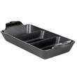 Lodge Pre-Seasoned Cast Iron Divided Mini Server - LMSDRC