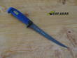 Marttiini Martef 7.5 Inch Fish Filleting Knife, Blue Softgrip Handle - 836014T