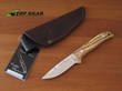 Miguel Nieto Linea Coyote Knife - Olive Wood 1058