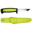 Mora Basic 511 Fixed Blade Knife, Carbon Steel - Black/Lime 12975