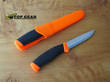 Mora Companion Bushcraft Knife - Safety Orange 11824