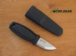 Mora Eldris Pocket-Sized Fixed Blade Knife, Black Handle - 017554