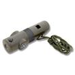 Ndur 7-in-1 Survival Whistle with Compass and LED Light - 23030