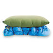 Nemo Fillo Luxury Inflatable Backpacking and Camping Pillow, Moss Green - 2016