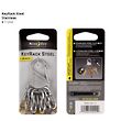 Nite Ize Keyrack Steel Keyring - KRS-03-01Black or KRS-03-11 Stainless Steel