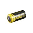 Nitecore NL166 Rechargeable RCR123A Li-ion Battery with Protection Circuit - 650mAh