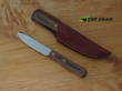 Old Hickory Bird and Trout Knife with Leather Sheath - 7027