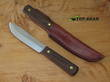 Old Hickory by Ontario 5.5 Inch Hunting Knife with Leather Sheath - 7026
