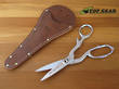Ontario Sportsman Shears with Leather Sheath - OKC-725