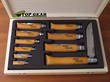 Opinel Complete Stainless Steel Pocket Knife Set - No. 2 to No. 12
