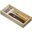 Opinel No. 8 Knife with Olive Wood Handle and Gift Box - 001004