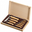Opinel Stainless Steel Pocket Knife - Complete Knife Display Set - No. 2 to No. 12