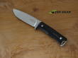 Otter Knives Falke Hunting Knife, Bohler N690 Stainless Steel, Black Micarta Handle - RWF 01 B MI