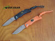 Outdoor Edge Mini Grip or Mini Blaze Folding Knife - MG-10C Black or MB-20C  Orange