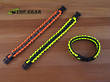 Reactor Tactical Gear Paracord Survival Bracelet - Yellow or Orange