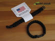 Reactor Tactical Gear Paracord Survival Bracelet - Black