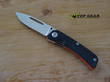 Real Steel Akuma Pocket Knife, Bohler K110 Stainless Steel, G10 Handle - 9111