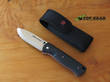 Real Steel Bushcraft and Survival Folder with Bubinga Wood Handle - 3716