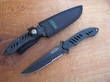 Remington Sportsman Fast Series Fixed Blade Knife, Black - 19784