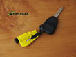 Resqme The Original Keychain Car Escape Tool w Glass Breaker and Seat Belt Cutter - RQM-YELLOW