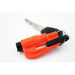 Resqme The Original Keychain Car Escape Tool w Glass Breaker and Seat Belt Cutter, Orange - RQM-ORANGE