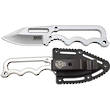 SOG Instinct Mini Fixed Blade Neck Knife with Skeletonized Handle - NB1001-CP
