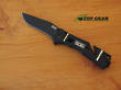 SOG Trident Elite Assisted Opening Knife, Black TiNi Finish - TF102-BX