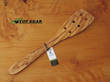 Scanwood Olive Wood Spatula/Turner with Holes - 30 cm 6010