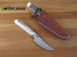 Silver Stag Backwoods Pro Hunting Knife with Stag Handle - BWP3.0