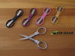 Slip-N-Snip Folding Scissors - Stainless, Gold, Black, Pink or Cranberry SLS1
