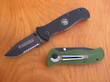 Smith & Wesson Extreme Ops Folding Knife - Black or Green