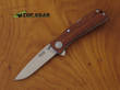 Sog Twitch II Assisted Opening Knife with Rosewood Handle TWI17-CP