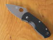 Spyderco Ambitious Pocket Knife, G10 Handle - C148GP