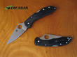 Spyderco Delica 4 Flat Ground Knife, VG10 Stainless Steel - C11FPBK