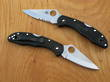 Spyderco Delica 4 Lightweight Pocket Knife - C11PBK Plain or C11PSBK Serrated