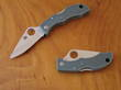 Spyderco Ladybug Pocket Knife with Green Handle, VG-10 Steel - LFGP3