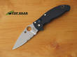 Spyderco Manix 2 Folding Knife, Combo Edge, Satin Finish - C101GPS2