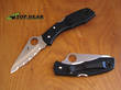 Spyderco Salt H1 Pocket Knife - Black C88SBK