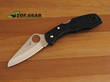 Spyderco Salt H1 Pocket Knife - Black C88PBK