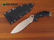 Spyderco Schempp Rock Fixed Blade Knife - FB20FPBK