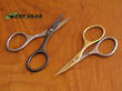 Simbatec Manicure Scissors by Stahl Krone - Black or Gold