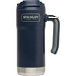 Stanley Adventure Series Large Vacuum Steel Travel Mug, 473 ml, Navy Blue - 10-01903-001
