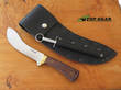 Svord Deluxe Curved Skinner Knife - Walnut Wood 310BNG