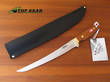 Svord Deluxe Fish Fillet Knife with Mahogany Handle, Carbon Steel - 950B