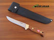 Svord General Purpose Hunting Knife with Mahogany Wood Handle - 870BB