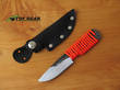 Svord Hiker Fixed Blade Knife with Paracord Handle and Leather Sheath - EDCL