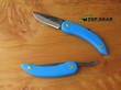 Svord Peasant Pocket Knife with Polypropylene Handle - Blue