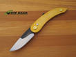 Svord Peasant Pocket Knife with Anodized Aluminium Handle - Gold